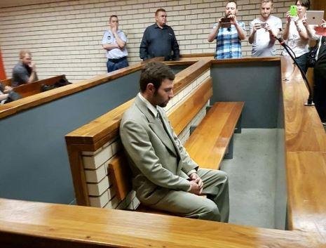 Andre van Wyk in court Picture: Ilse de Lange