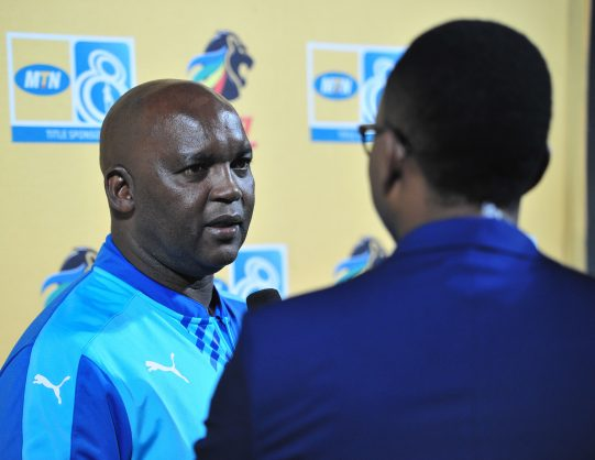 Pitso Mosimane, coach of Mamelodi Sundowns (Samuel Shivambu/BackpagePix)