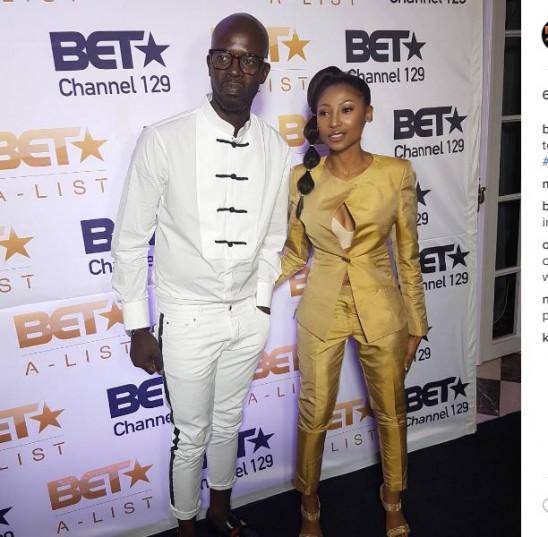 Black Coffe and wife Mbali Mlotshwa. Picture: Instagram