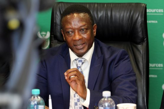 South Africa's Deputy Minister of Mineral Resources Godfrey Oliphant  Supplied