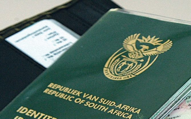 South African ID Book| Gallo images