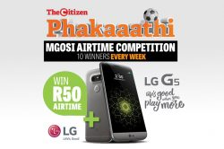 Win R50 airtime with Phakaaathi's Mgosi airtime competition