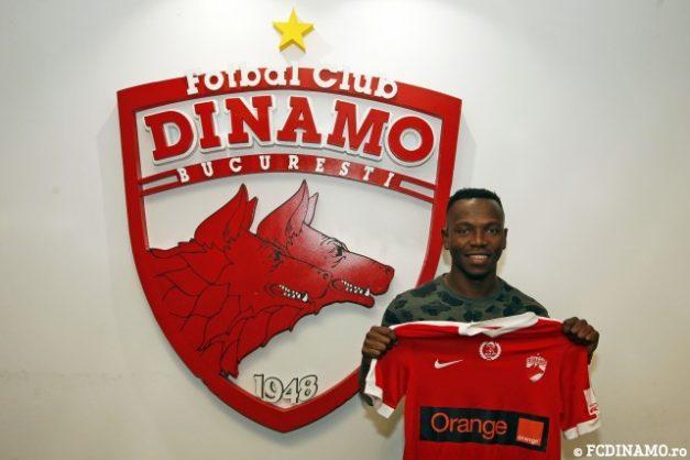 May Mahlangu has signed for Dinamo Bucuresti.