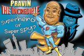 Ghost cartoon: Superhero or superspy?