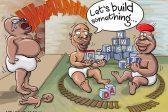 Ghost cartoon: The political playpen