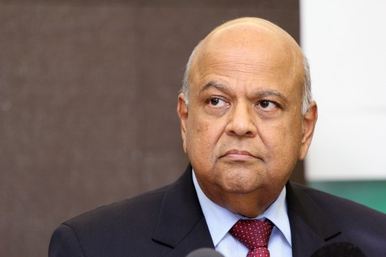 South African minister of Finance Pravin Gordhan| Supplied
