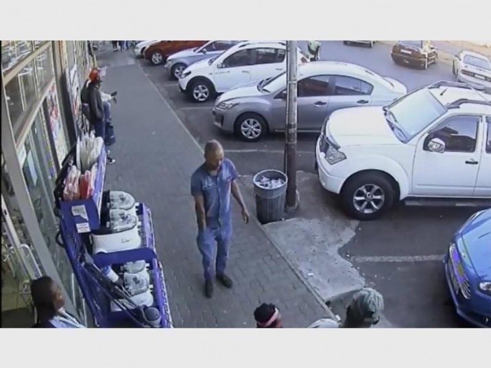 This man allegedly used a car jammer to get into a vehicle. Picture: Supplied.
