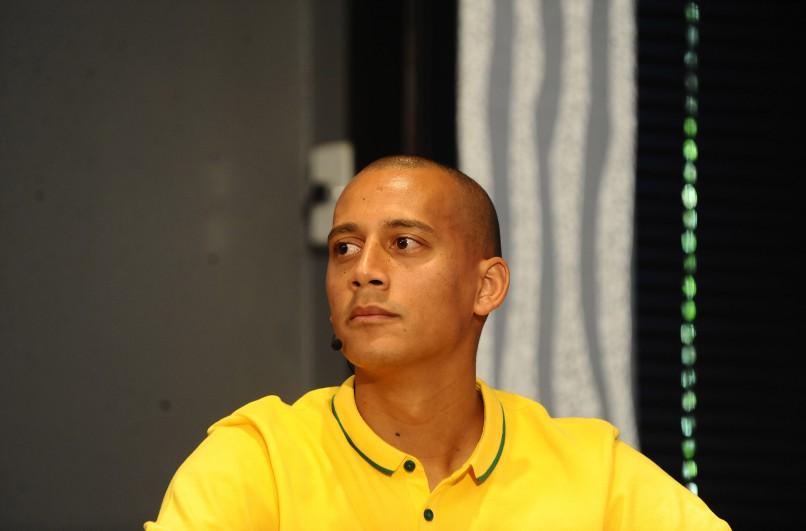Wayne Arendse of Mamelodi Sundowns  (Photo by Lefty Shivambu/Gallo Images)
