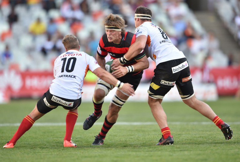 BLOEMFONTEIN, SOUTH AFRICA  - SEPTEMBER 03:  Christiaan De Bruin of the Kings during the Currie Cup match between Toyota Cheetahs and Eastern Province Kings at Toyota Stadium on September 03, 2016 in Bloemfontein, South Africa (Photo by Johan Pretorius/Gallo Images)