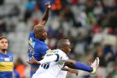 CAPE TOWN, SOUTH AFRICA - SEPTEMBER 17:  Judas Moseamedi of Cape Town City FC during the MTN 8 Semi Final, 2nd Leg match between Cape Town City FC and Bidvest Wits at Cape Town Stadium on September 17, 2016 in Cape Town, South Africa. (Photo by Carl Fourie/Gallo Images)