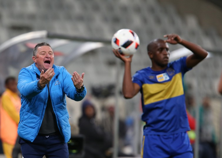 Wits coach Gavin Hunt during the MTN 8 Semi Final, 2nd Leg match between Cape Town City FC and Bidvest Wits at Cape Town Stadium on September 17, 2016 in Cape Town, South Africa. (Photo by Carl Fourie/Gallo Images)