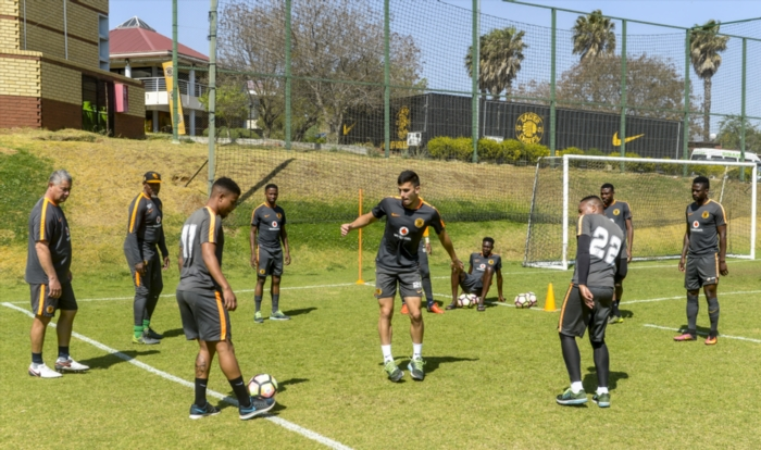 Kaizer Chiefs players during the Kaizer Chiefs Media Open Day at Kaizer Chiefs Village, Naturena on September 22, 2016 in Johannesburg, South Africa. (Photo by Sydney Seshibedi/Gallo Images)