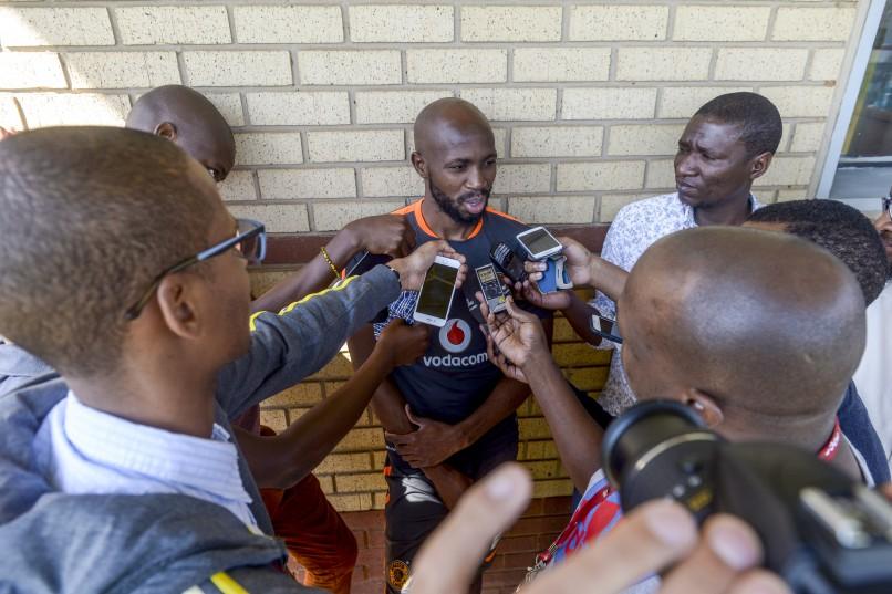 Ramahlwe Mphahlele of Kaizer Chiefs during the Kaizer Chiefs Media Open Day at Kaizer Chiefs Village, Naturena. (Photo by Sydney Seshibedi/Gallo Images)