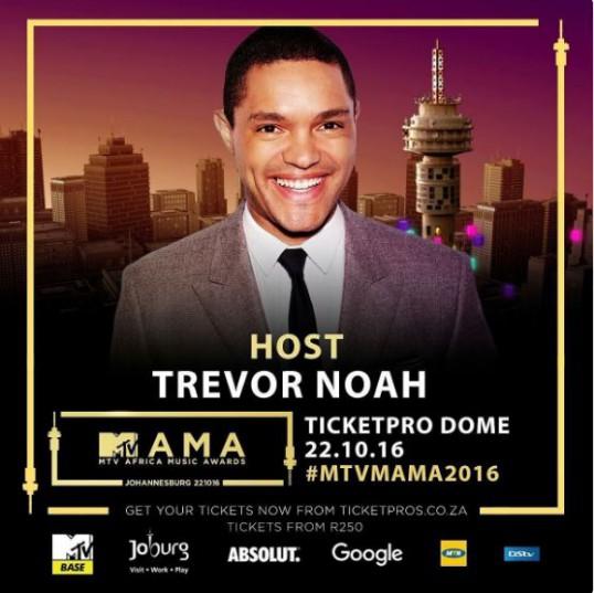 Trevor Noah backs out as host of MAMA awards