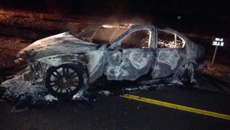 Crash scene: Photo: Limpopo Transport