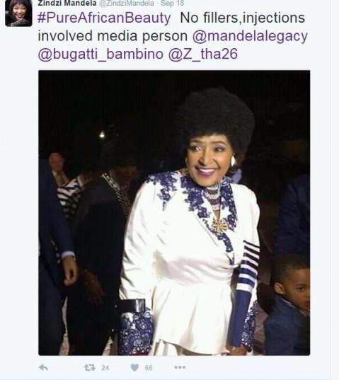 Winnie Madikizela- Mandela. Picture: Twitter