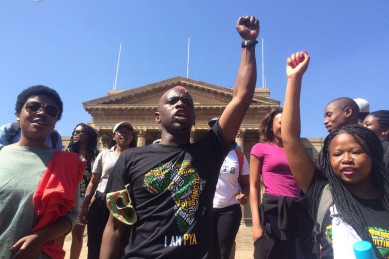 Live report: Wits University march to begin