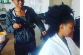 How Zahara keeps her Afro on fleek