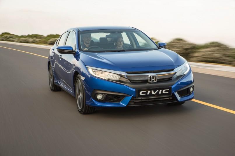 The new Honda Civic Sedan| Quickpic