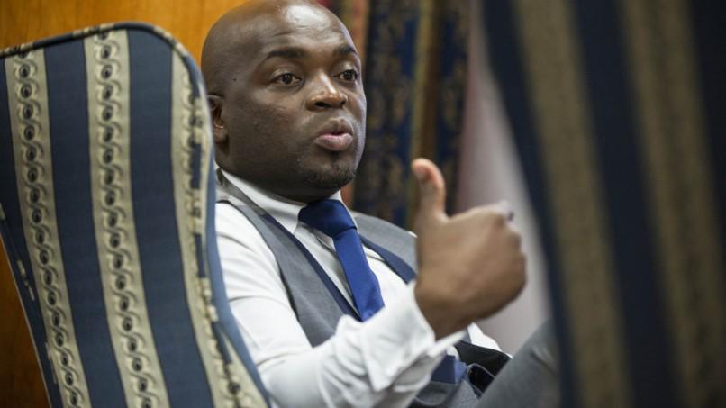 Tshwane Mayor Solly Msimanga. (Delwyn Verasamy, M&G)