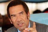 Botswana police arrest suspect of nude President Khama image