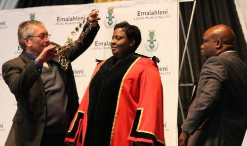 Lindiwe Ntshalintshali. Image by Witbank News.