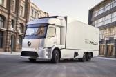 Mercedes shows eTruck concept with 200km range