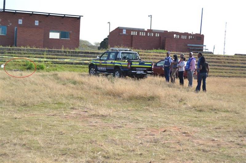 The area where Desiree Murugan's body was found. Picture: Rising Sun Chatsworth.