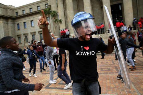 Wits student leader arrested