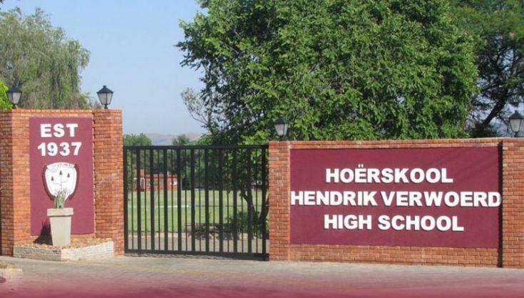 Screenshot of HF Verwoerd school.
