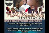 Hairline restoration all-night prayer shocks social media