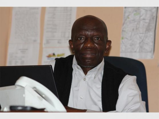 Reverend Lawrence Mabaso, 63, was recently the victim of an armed robbery after withdrawing over R30 000 out of his own pocket to give to his NGO. Picture: Randfontein Herald.