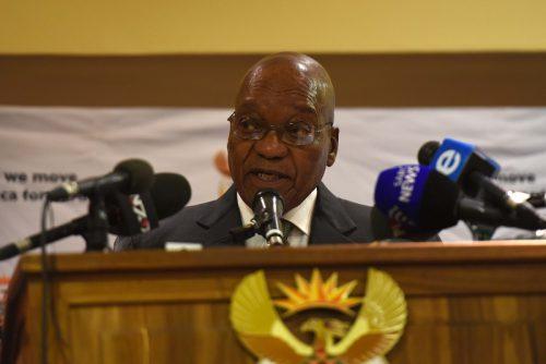 President  Jacob Zuma. Picture: Neil McCartney