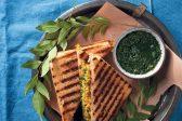 Recipe: Mumbai potato masala sandwich with coriander and green chilli chutney
