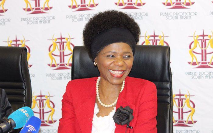 Outgoing Public Protector Thuli Madonsela