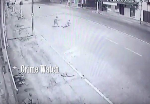 Five brazen 2016 crime incidents caught on camera