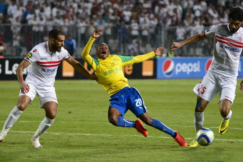 ALEXANDRIA, EGYPT - OCTOBER 23: General view during the CAF Champions League 2nd Leg final match between Zamalek and Mamelodi Sundowns at Borg El Arab Stadium on October 23, 2016 in Alexandria, Egypt. (Photo by Gallo Images)