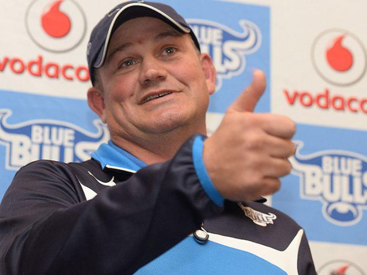 Vodacom Blue Bulls coach Nollis Marais