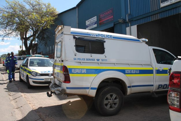 Worker grazed by bullet at work.