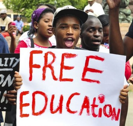 Zuma free education promise could strain budget, fan protests
