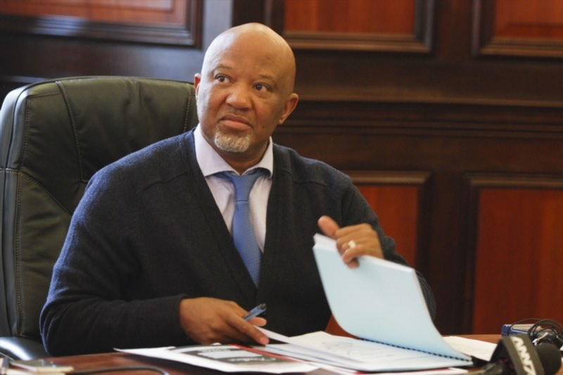 Former deputy Minister of Finance Mcebisi Jonas during a board meeting with South African Airways (SAA) on September 09, 2016 in Pretoria, South Africa. During the meeting, Finance Minister Pravin Gordhan announced the approval of R5 billion bailout application for the airline. Picture: Gallo Images