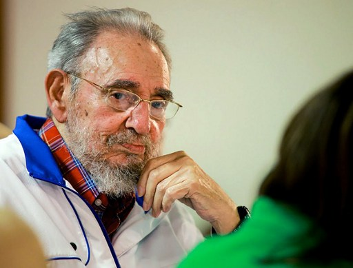 Cuban revolutionary icon Fidel Castro died late on November 25, 2016 in Havana, his brother, President Raul Castro, announced on national television. / AFP PHOTO / CUBADEBATE.CU / ALEX CASTRO