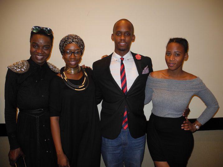 Diva Kardash, Njabs Zwane, Njinga Mpanza and Khaliphile Cele. Picture: Lorna Charles.