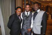Eric Alinot, Abel John and Abdullah Aroon Haji. Picture: Lorna Charles.