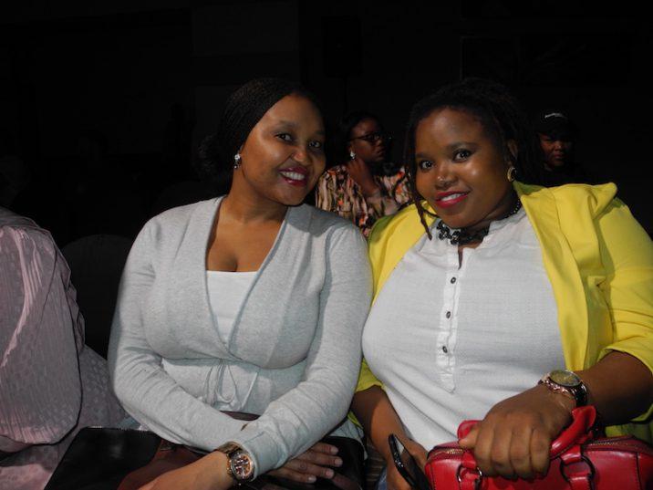 Sharlotte Tsoaeli and Zikhona Mzini. Picture: Lorna Charles.