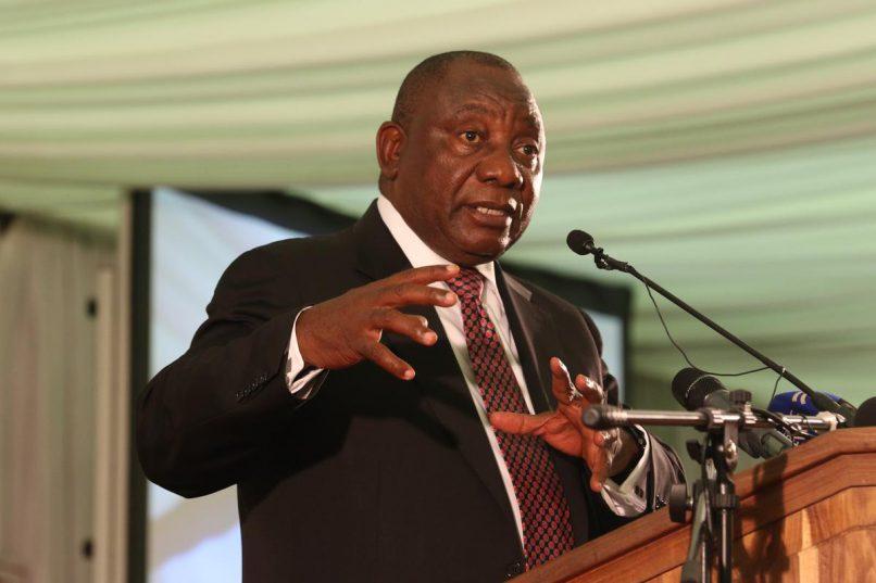 Deputy President Cyril Ramaphosa