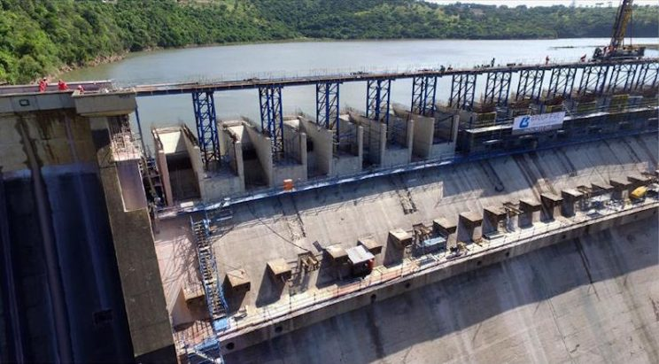 Hazelmere Dam, located on the Mdloti River, was originally constructed as a concrete gravity dam in 1976. Picture: North Coast Courier.