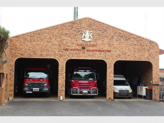 The Farrarmere Fire Station is undergoing a R28-million upgrade. Picture: Benoni City Times.