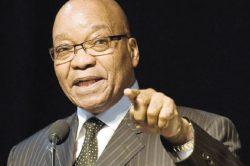 Stop lying about me, Zuma tells Maimane