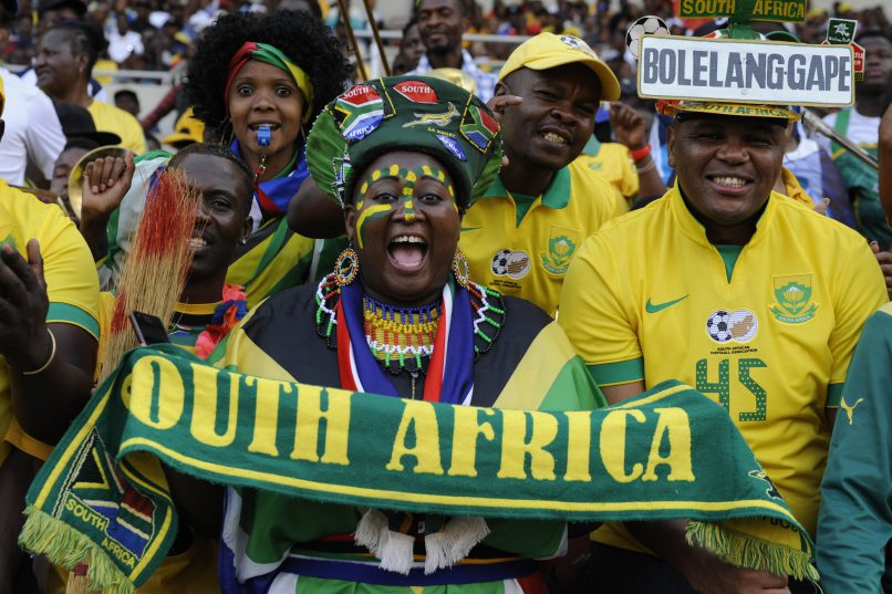 POLOKWANE, SOUTH AFRICA - NOVEMBER 12: Fans during the 2018 FIFA World Cup Qualifier match between South Africa and Senegal at Peter Mokaba Stadium on November 12, 2016 in Polokwane, South Africa. (Photo by Philip Maeta/Gallo Images)
